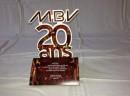 Carte d'anniversaire 20 ans société MBV
